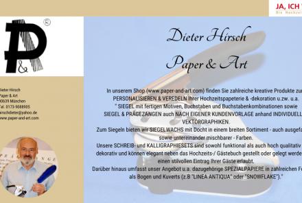Dieter Hirsch Paper & Art