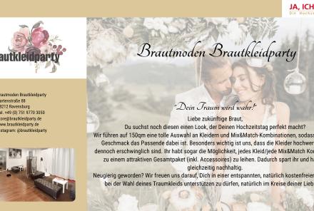 Brautkleidparty
